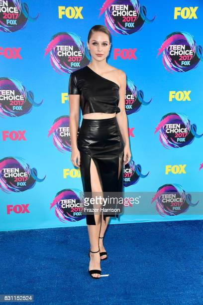 Actor Melissa Benoist attends the Teen Choice Awards 2017 at Galen Center on August 13 2017 in Los Angeles California
