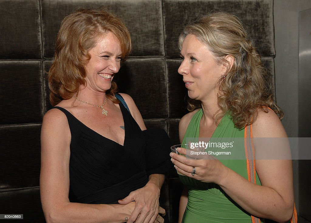 Actor Melissa Leo (L) and director Courtney Hunt attend the after party following the premiere of Sony Pictures Classics' 'Frozen River' at the Pacific Design Center on July 22, 2008 in West Hollywood, California.
