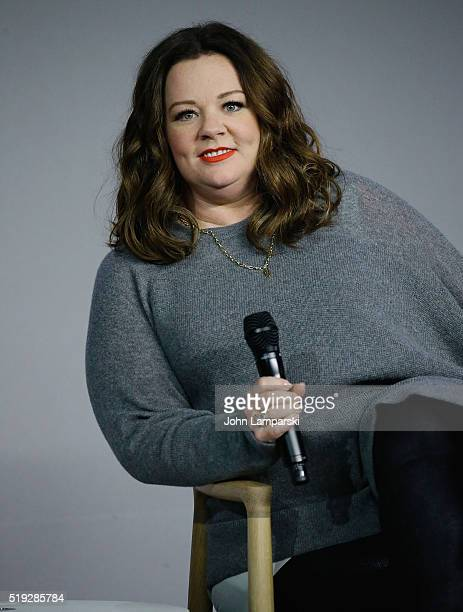 Actor Melissa McCarthy attend Apple Store Soho presents Meet The Filmmaker 'The Boss' at Apple Store Soho on April 5 2016 in New York City