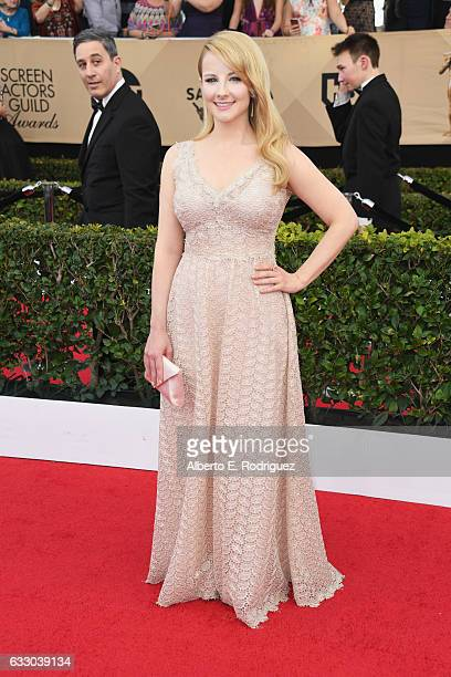 Actor Melissa Rauch attends the 23rd Annual Screen Actors Guild Awards at The Shrine Expo Hall on January 29 2017 in Los Angeles California