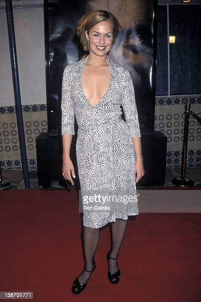 Actor Melora Hardin attends the 'Hannibal' Westwood Premiere on February 1 2001 at Mann Village Theatre in Westwood California