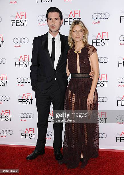 Actor Melvil Poupaud and actress Melanie Laurent attend the premiere of 'By the Sea' at the 2015 AFI Fest at TCL Chinese 6 Theatres on November 5...
