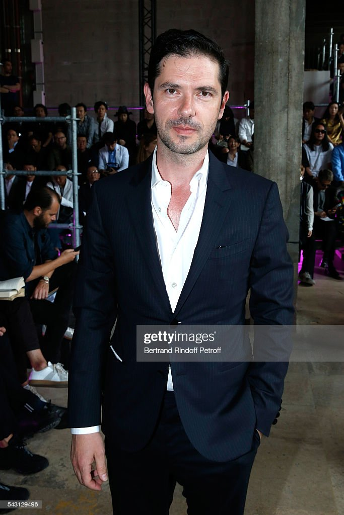 Actor <a gi-track='captionPersonalityLinkClicked' href=/galleries/search?phrase=Melvil+Poupaud&family=editorial&specificpeople=624743 ng-click='$event.stopPropagation()'>Melvil Poupaud</a> attends the Lanvin Menswear Spring/Summer 2017 show as part of Paris Fashion Week on June 26, 2016 in Paris, France.