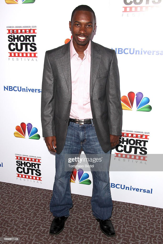Actor Melvin Jackson attends the NBCUniversal's 8th annual 'Short Cuts Festival' grand finale held at DGA Theater on October 23, 2013 in Los Angeles, California.