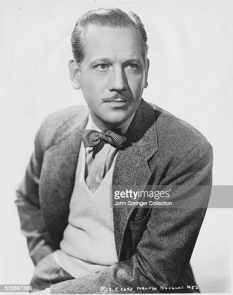 Melvyn Douglas Stock Photos And Pictures Getty Images
