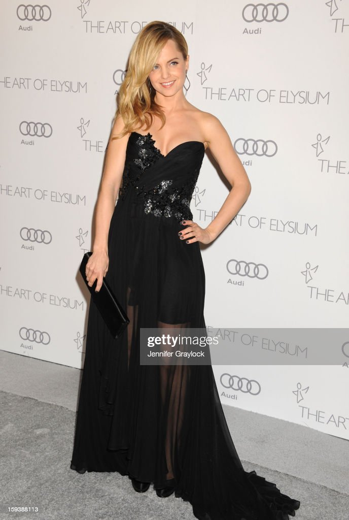Actor Mena Suvari attends the Art Of Elysium's 6th Annual Heaven Gala held at the 2nd Street Tunnel on Saturday, January 12, 2013 in Los Angeles, California.