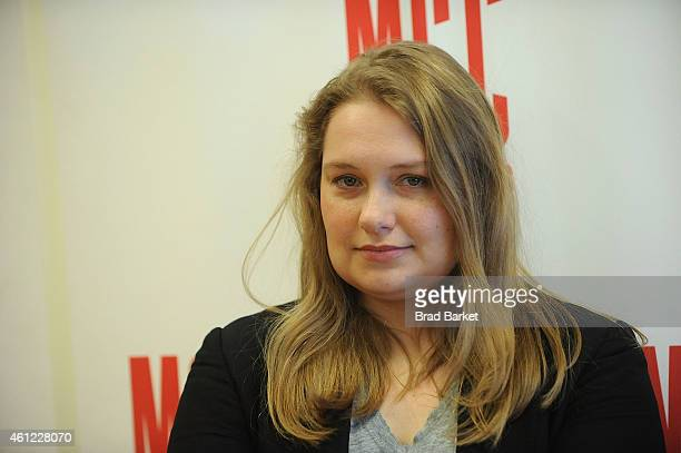 Actor Merritt Wever attends 'The Nether' Press Preview at MTC Rehearsal Studios on January 9 2015 in New York City