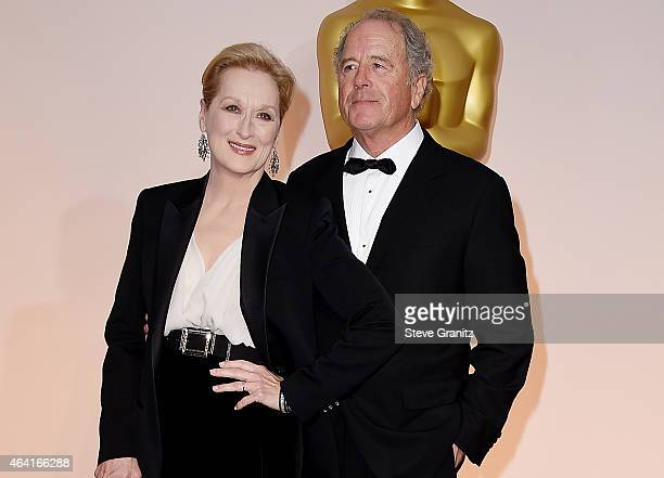 Actor Meryl Streep and sculptor Don Gummer attend the 87th Annual Academy Awards at Hollywood Highland Center on February 22 2015 in Hollywood...