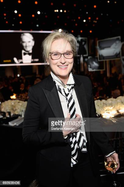 Actor Meryl Streep during American Film Institute's 45th Life Achievement Award Gala Tribute to Diane Keaton at Dolby Theatre on June 8 2017 in...