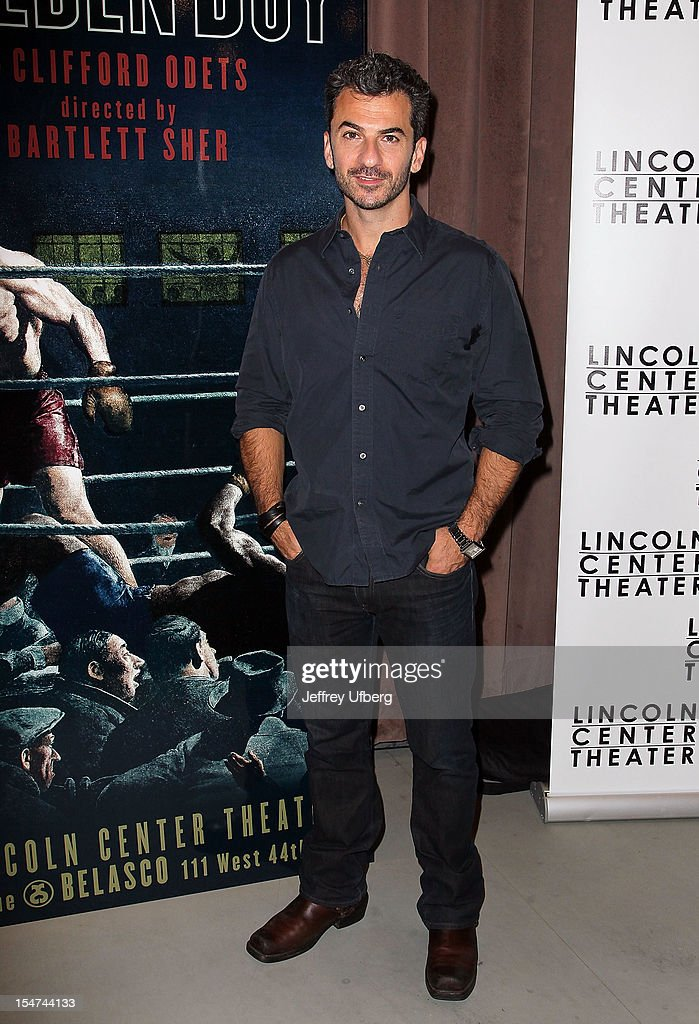 Actor Michael Aronov attends the 'Golden Boy' Cast Meet & Greet at the Lincoln Center Theater on October 25, 2012 in New York City.