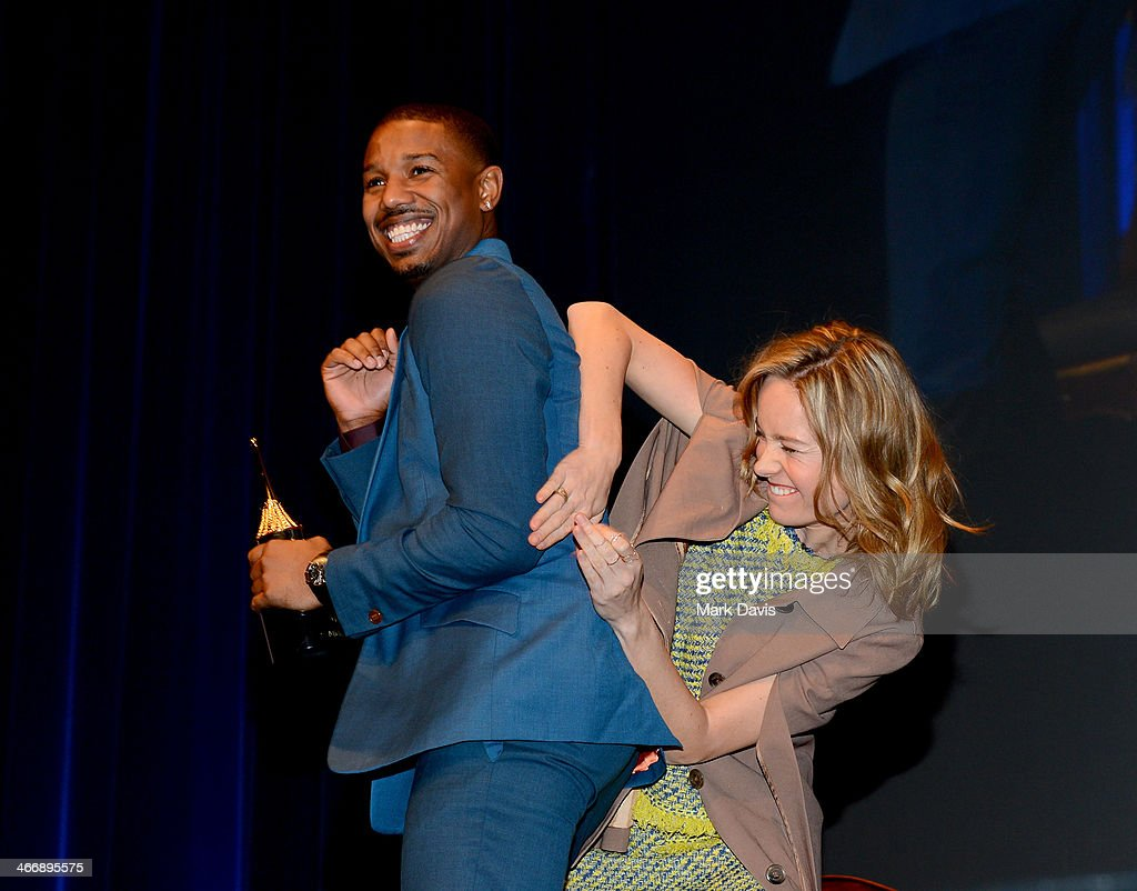Actor <a gi-track='captionPersonalityLinkClicked' href=/galleries/search?phrase=Michael+B.+Jordan+-+Actor&family=editorial&specificpeople=608313 ng-click='$event.stopPropagation()'>Michael B. Jordan</a> and Actress <a gi-track='captionPersonalityLinkClicked' href=/galleries/search?phrase=Brie+Larson&family=editorial&specificpeople=171226 ng-click='$event.stopPropagation()'>Brie Larson</a> attend the 29th Santa Barbara International Film Festival Virtuosos Award to Daniel Bruhl, <a gi-track='captionPersonalityLinkClicked' href=/galleries/search?phrase=Michael+B.+Jordan+-+Actor&family=editorial&specificpeople=608313 ng-click='$event.stopPropagation()'>Michael B. Jordan</a>, <a gi-track='captionPersonalityLinkClicked' href=/galleries/search?phrase=Brie+Larson&family=editorial&specificpeople=171226 ng-click='$event.stopPropagation()'>Brie Larson</a>, Jared Leto and June Squibb on February 4, 2014 in Santa Barbara, California.