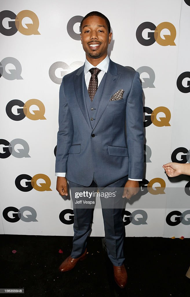 Actor Michael B. Jordan arrives at the GQ Men of the Year Party at Chateau Marmont on November 13, 2012 in Los Angeles, California.