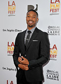 Actor Michael B Jordan arrives at the premiere of The Weinstein Company's 'Fruitvale Station' during the 2013 Los Angeles Film Festival at Regal...