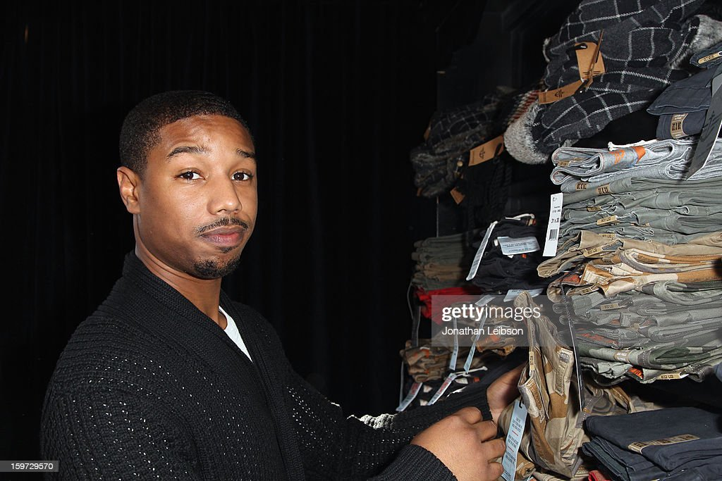 Actor Michael B. Jordan attends Day 1 of the Variety Studio at 2013 Sundance Film Festival on January 19, 2013 in Park City, Utah.