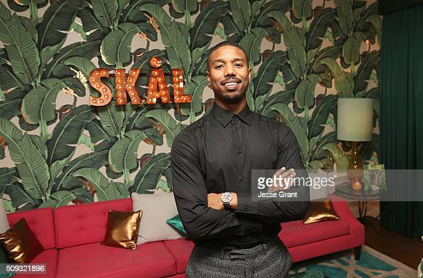 Actor Michael B Jordan attends his birthday at the private residence of Jonas Tahlin CEO Absolut Elyx on February 9 2016 in Los Angeles California