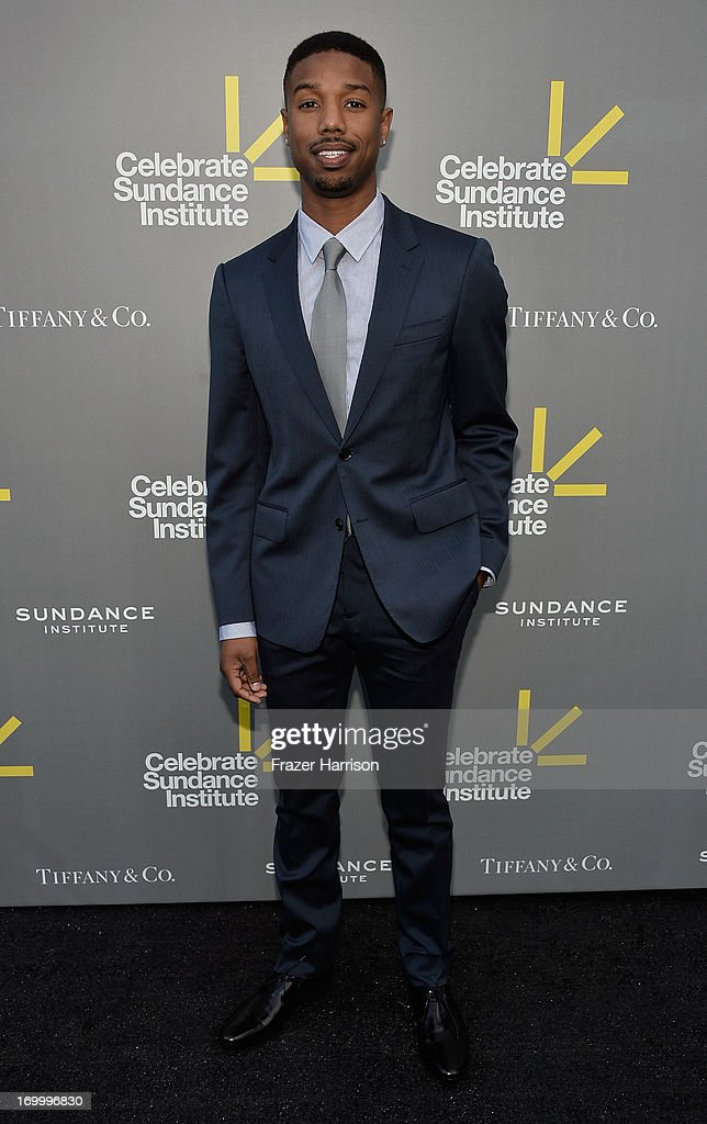 Actor Michael B. Jordan attends the 2013 'Celebrate Sundance Institute' Los Angeles Benefit hosted by Tiffany & Co. at The Lot on June 5, 2013 in West Hollywood, California.