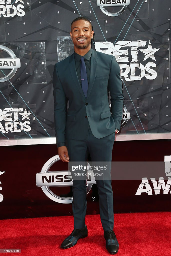 Actor Michael B Jordan attends the 2015 BET Awards at the Microsoft Theater on June 28 2015 in Los Angeles California