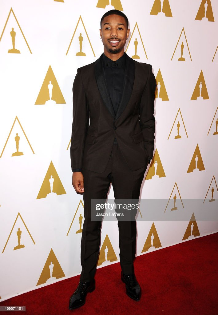 Actor Michael B. Jordan attends the Academy of Motion Picture Arts and Sciences' Scientific and Technical Awards ceremony at Beverly Hills Hotel on February 15, 2014 in Beverly Hills, California.