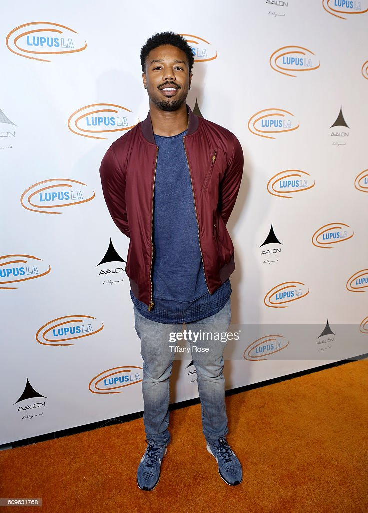 Actor Michael B. Jordan attends the Get Lucky for Lupus LA Celebrity Poker Tournament at Avalon on September 21, 2016 in Los Angeles, California.