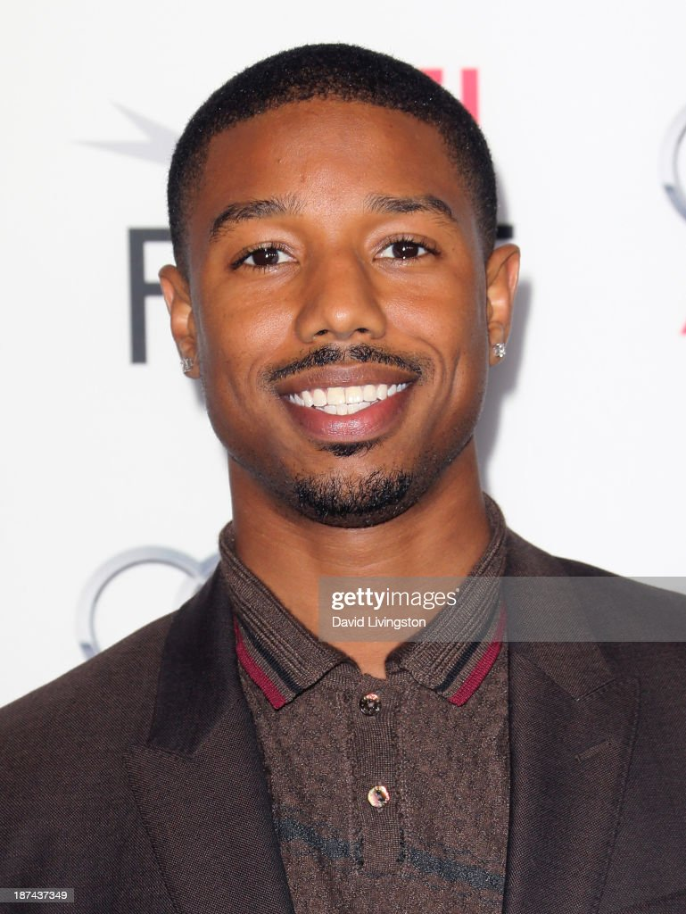 Actor <a gi-track='captionPersonalityLinkClicked' href=/galleries/search?phrase=Michael+B.+Jordan+-+Actor&family=editorial&specificpeople=608313 ng-click='$event.stopPropagation()'>Michael B. Jordan</a> attends the Los Angeles Times Young Hollywood Roundtable at AFI FEST 2013 presented by Audi at the TCL Chinese Theatre on November 8, 2013 in Hollywood, California.