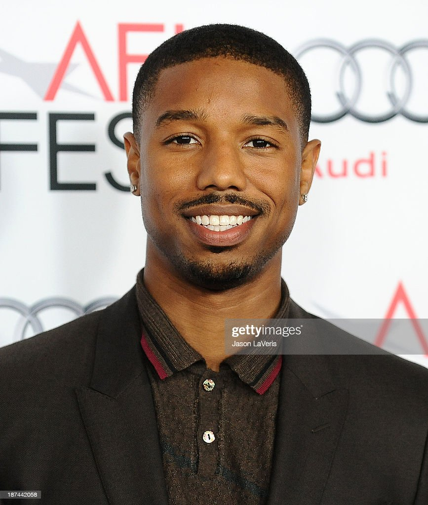 Actor <a gi-track='captionPersonalityLinkClicked' href=/galleries/search?phrase=Michael+B.+Jordan+-+Actor&family=editorial&specificpeople=608313 ng-click='$event.stopPropagation()'>Michael B. Jordan</a> attends the Young Hollywood Roundtable at the 2013 AFI Fest at TCL Chinese Theatre on November 8, 2013 in Hollywood, California.