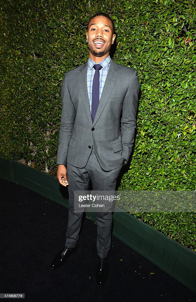 Actor <a gi-track='captionPersonalityLinkClicked' href=/galleries/search?phrase=Michael+B.+Jordan+-+Actor&family=editorial&specificpeople=608313 ng-click='$event.stopPropagation()'>Michael B. Jordan</a> attends Vanity Fair and FIAT celebration of 'Young Hollywood' during Vanity Fair Campaign Hollywood at No Vacancy on February 25, 2014 in Los Angeles, California.