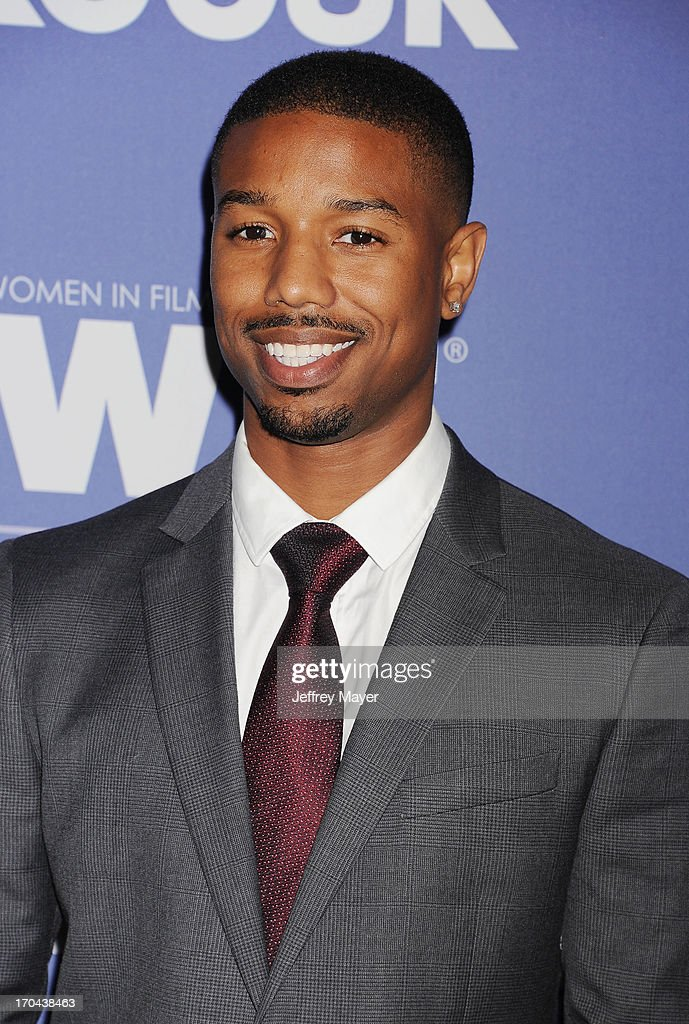 Actor Michael B Jordan attends Women In Film's 2013 Crystal Lucy Awards at The Beverly Hilton Hotel on June 12 2013 in Beverly Hills California