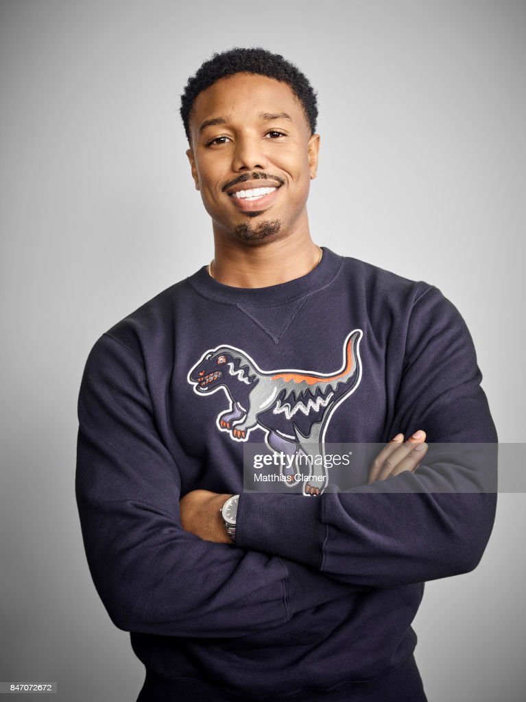 Actor Michael B. Jordan from 'Black Panther' is photographed for Entertainment Weekly Magazine on July 23, 2016 at Comic Con in the Hard Rock Hotel in San Diego, California.