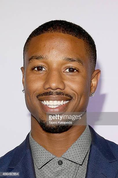 Actor Michael B Jordan hosts the Canon PIXMA PRO City Senses Galary at Austin Music Hall in Austin on October 1 2014