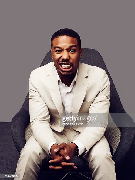 Actor Michael B Jordan is photographed for Self Assignment on May 20 2013 in Cannes France
