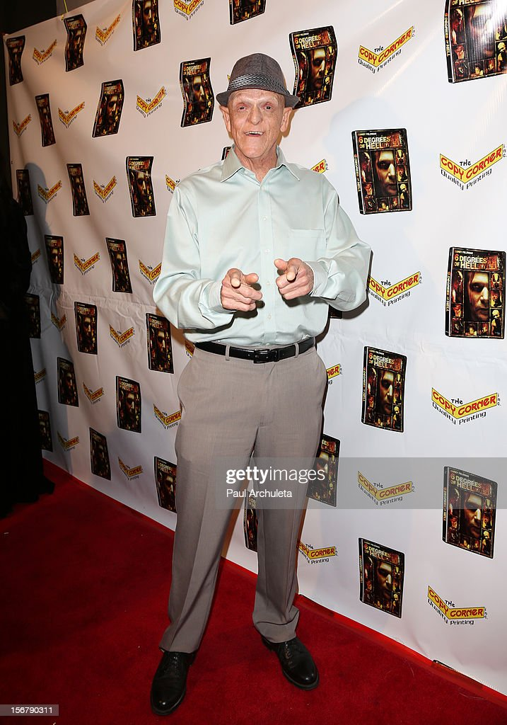 Actor Michael Berryman attends the Premiere of '6 Degrees Of Hell' at Laemmle's Music Hall 3 on November 20, 2012 in Beverly Hills, California.