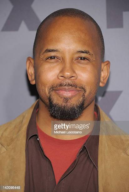 Actor Michael Boatman attends the 2012 FX Ad Sales Upfront at Lucky Strike on March 29 2012 in New York City
