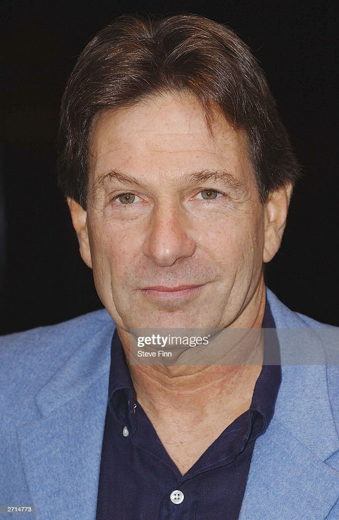 Actor Michael Brandon attends a photocall for the Musical 'Jerry Springer - The Opera' at The Cambridge Theatre on November10, 2003 in London.