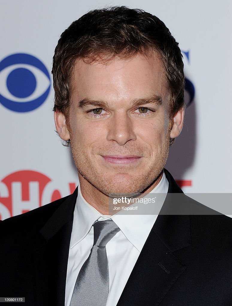 Actor Michael C Hall arrives at the 2011 TCA Summer Press Tour CBS The CW Showtime at The Pagoda on August 3 2011 in Beverly Hills California