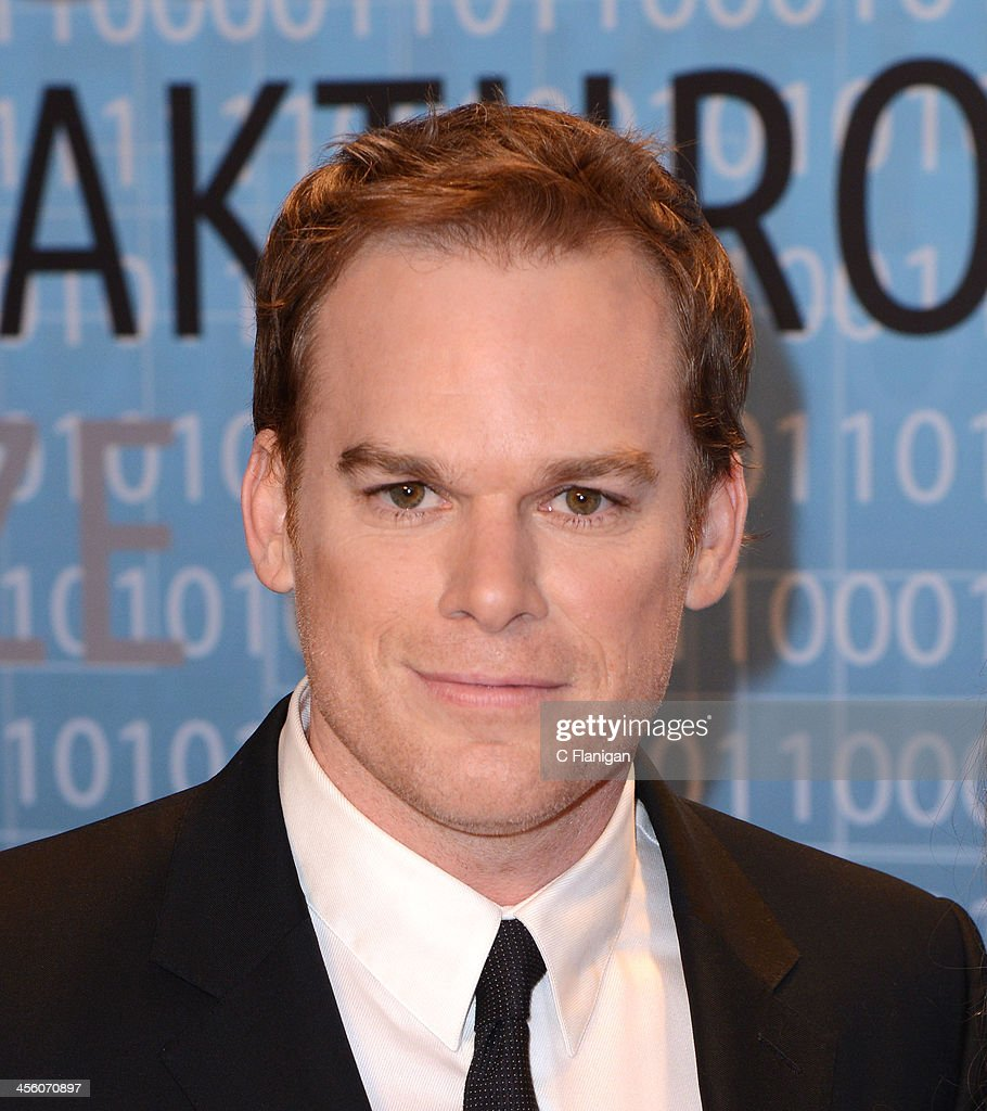 Actor <a gi-track='captionPersonalityLinkClicked' href=/galleries/search?phrase=Michael+C.+Hall+-+Actor&family=editorial&specificpeople=680229 ng-click='$event.stopPropagation()'>Michael C. Hall</a> arrives at the Breakthrough Prize Inaugural Ceremony at NASA Ames Research Center on December 12, 2013 in Mountain View, California.