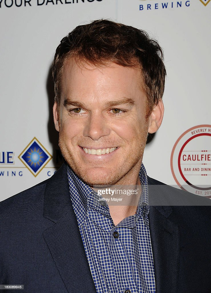 Actor <a gi-track='captionPersonalityLinkClicked' href=/galleries/search?phrase=Michael+C.+Hall+-+Actor&family=editorial&specificpeople=680229 ng-click='$event.stopPropagation()'>Michael C. Hall</a> arrives at the Los Angeles premiere of 'Kill Your Darlings' at the Writers Guild Theater on October 3, 2013 in Beverly Hills, California.