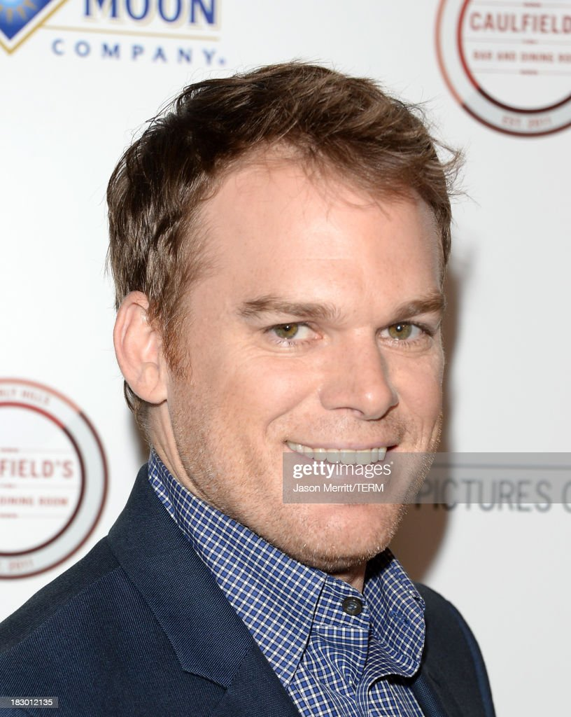 Actor <a gi-track='captionPersonalityLinkClicked' href=/galleries/search?phrase=Michael+C.+Hall+-+Actor&family=editorial&specificpeople=680229 ng-click='$event.stopPropagation()'>Michael C. Hall</a> arrives at the premiere of Sony Pictures Classics' 'Kill Your Darlings' at Writers Guild Theater on October 3, 2013 in Beverly Hills, California.