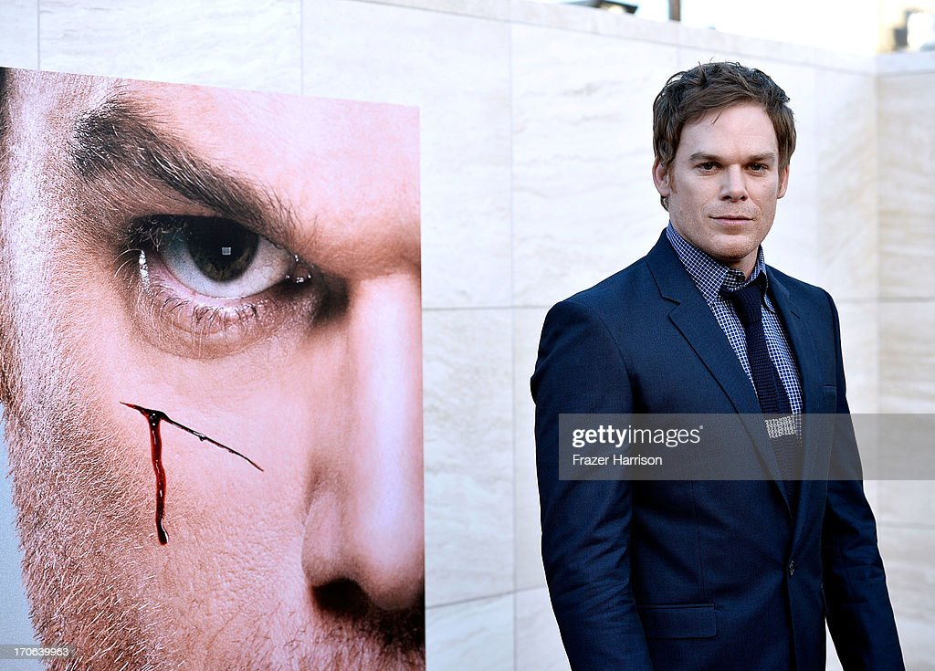 Actor Michael C Hall arrives at the Showtime Celebrates 8 Seasons Of 'Dexter' at Milk Studios on June 15 2013 in Hollywood California