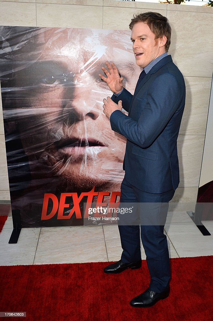 Actor Michael C. Hall arrives at the Showtime Celebrates 8 Seasons Of 'Dexter' at Milk Studios on June 15, 2013 in Hollywood, California.