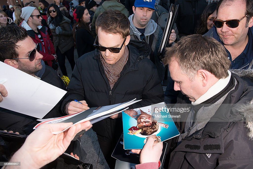 Actor Michael C Hall attends Oakley Learn To Ride With AOL at Sundance on January 18, 2014 in Park City, Utah.