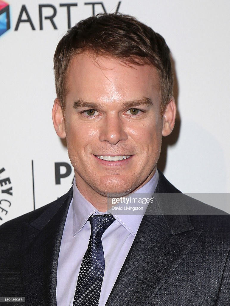 Actor <a gi-track='captionPersonalityLinkClicked' href=/galleries/search?phrase=Michael+C.+Hall+-+Actor&family=editorial&specificpeople=680229 ng-click='$event.stopPropagation()'>Michael C. Hall</a> attends PaleyFestPreviews: Fall TV - Fall Farewell: 'Dexter' at The Paley Center for Media on September 12, 2013 in Beverly Hills, California.