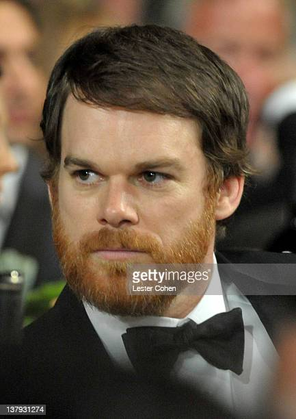 Actor Michael C Hall attends The 18th Annual Screen Actors Guild Awards broadcast on TNT/TBS at The Shrine Auditorium on January 29 2012 in Los...