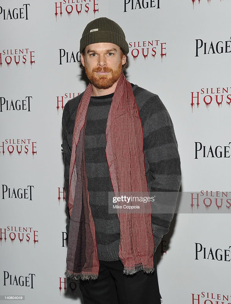 Actor Michael C Hall attends the 'Silent House' premiere at AMC Loews Lincoln Square on March 6 2012 in New York City