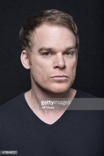 Actor Michael C Hall is photographed at the Sundance Film Festival 2014 for Self Assignment on January 25 2014 in Park City Utah