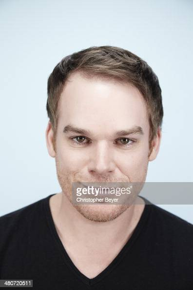 Actor Michael C Hall is photographed for Entertainment Weekly Magazine on January 25 2014 in Park City Utah