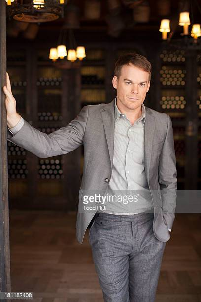 Actor Michael C Hall is photographed for USA Today on September 18 2013 in New York City