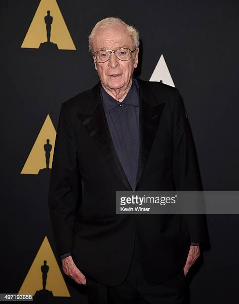 Actor Michael Caine attends the Academy of Motion Picture Arts and Sciences' 7th annual Governors Awards at The Ray Dolby Ballroom at Hollywood...