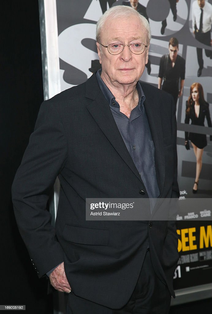Actor <a gi-track='captionPersonalityLinkClicked' href=/galleries/search?phrase=Michael+Caine+-+Actor&family=editorial&specificpeople=159746 ng-click='$event.stopPropagation()'>Michael Caine</a> attends the 'Now You See Me' New York Premiere at AMC Lincoln Square Theater on May 21, 2013 in New York City.