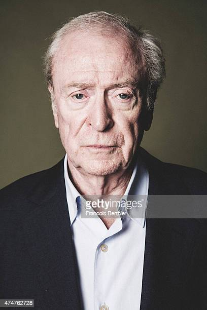 Actor Michael Caine is photographed on May 20 2015 in Cannes France