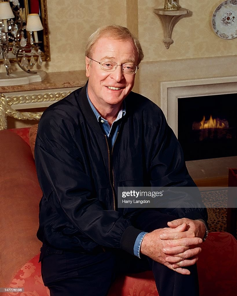Actor Michael Caine poses for a portrait session, in 2009 in Los Angeles, California.